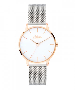 s.Oliver SO-3701-MQ stainless steel strap silver
