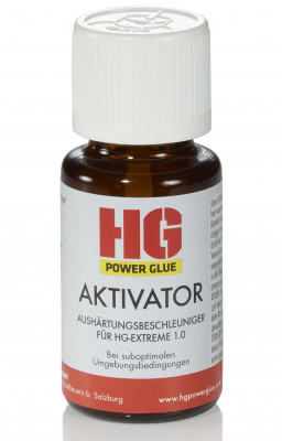 The weld out of the bottle - Activator for brushing (curing accelerator) - 15ml