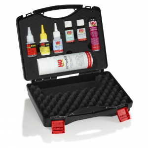 The weld out of the bottle - Universal-Kit in a case XXL