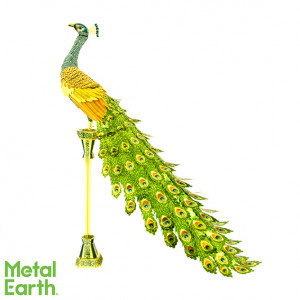 METAL EARTH 3D-Bausatz Pfau