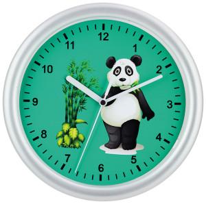 Kinderwanduhr Panda