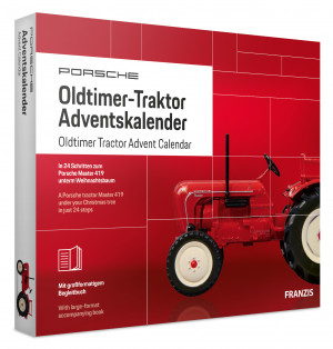 Advent Calendar Oldtimer Tractor