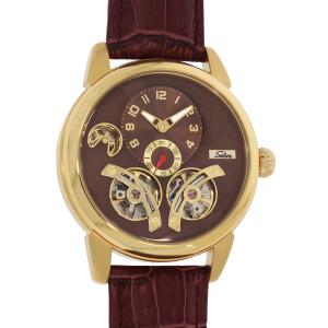 SELVA Men's Watch »Garcia« - gilded-brown