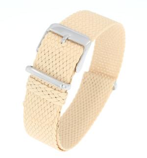 Nato Bracelet en perlon beige 20mm