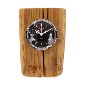 Matured forest clock, Made in Germany, black dial