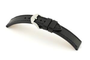 Lederband Santa Fe 24 mm schwarz