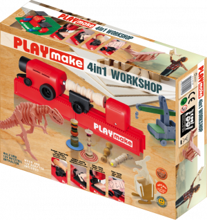 PLAYmake Modelling-Workshp Set 4in1 for children