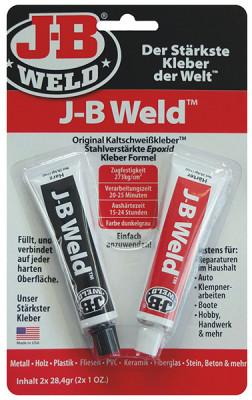 J-B Weld Original cold welding adhesive, 2x28.4g