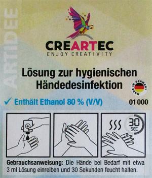 Desinfektionsmittel für die Hände, 1000 ml