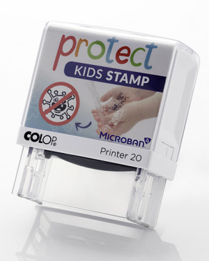 Protect Stamp - estampage - lavage - protection