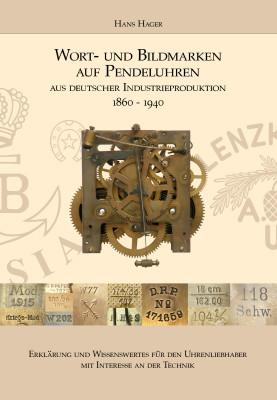 Livre Marques verbales et figuratives sur les pendules (édition allemande)