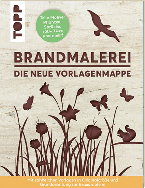 Book: Pyrography with templates (German edition)