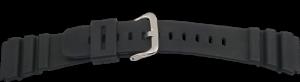 Kautschukband 22 mm schwarz
