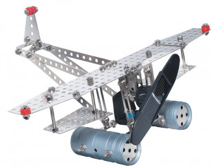 eitech Metal construction kit with solar cell and engine