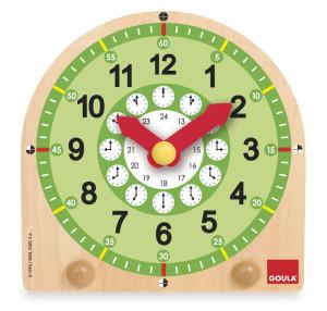 GOULA Time teaching clock