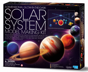 Model Making Kit 3D Leuchtendes Sonnensystem