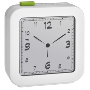 TFA Radio controlled alarm clock white