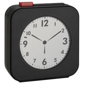 TFA Radio controlled alarm clock black