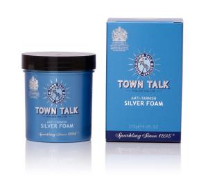 Mr Town Talk Reinigungsschaum für Silber, Inh. 275g