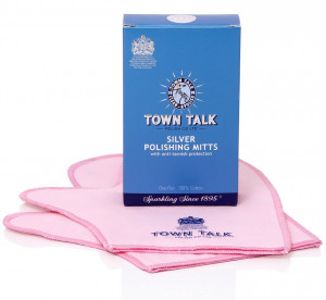 Mr Town Talk silver cleaning gloves