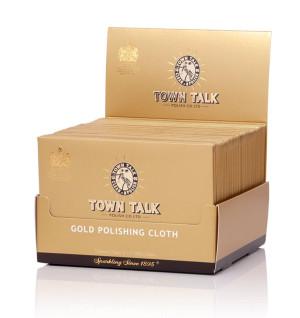 Mr Town Talk gold polishing cloth 12.5 cm x 17.5 cm
