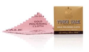 Mr Town Talk Dinky Gold Poliertuch 6,5cm x 6,5cm