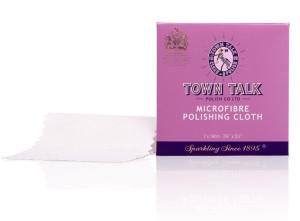 Mr Town Talk Mini Mikrofaser Poliertuch 7cm x 14cm