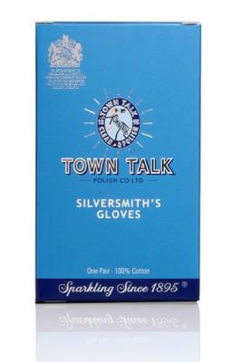 Mr Town Talk Silberschmiede Handschuhe