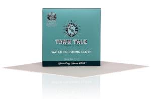 Mr Town Talk Uhrenputztuch 18cm x 18cm