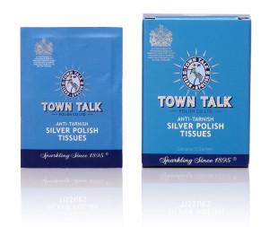 Anti-Tarnish Silver Polish Tissues