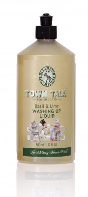 MR. TOWN TALK Superior Lime & Basil Washing Up Liquid, 500ml
