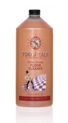 Mr Town Talk floor cleaner, bitter orange, 1 litre