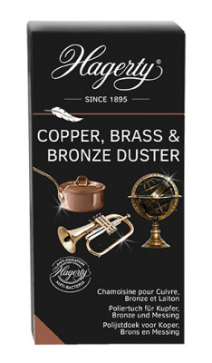Hagerty Copper Brass Bonze Polish, Tuch