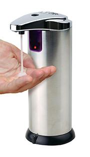 Infrarot-Seifenspender, auch für Desinfektionsmittel