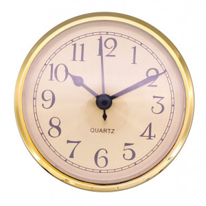 Insert movement GD Ø 78mm, dial yellow, Arabic numerals