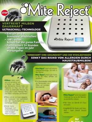 Original Mite Reject Milbenschutz Ultraschall