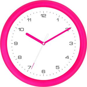 Quarzwanduhr Pink