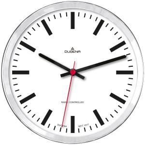 DUGENA Radio-controlled wall clock 4460656