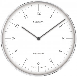 DUGENA Radio-controlled wall clock Dessau 7000998