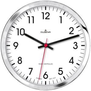 DUGENA Radio-controlled wall clock 4460655