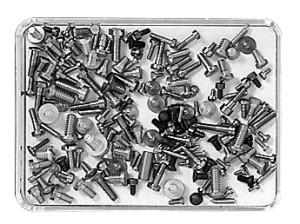 Stahl-Schrauben Sortiment