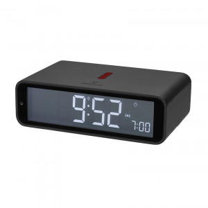 TFA radio alarm clock Twist, anthracite