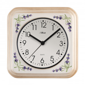 Atlanta 6015 Kitchen clock quartz cream