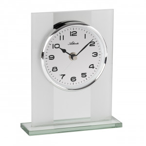 Atlanta 3127/0 Desk clock quartz silver