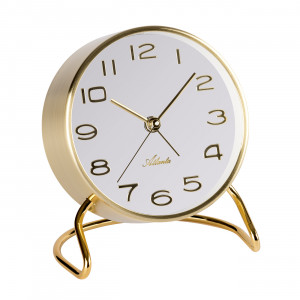 Atlanta 3103/9 Table clock quartz gold