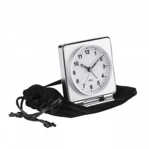 Atlanta 1116/0 Travel alarm clock quartz white