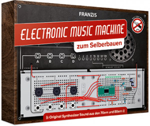Electronic music machine kit to build yourself