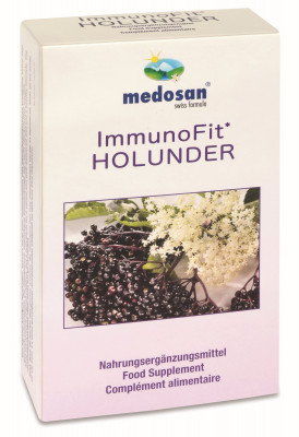 ImmunoFit Elderberry, 60 capsules - to strengthen your immune system