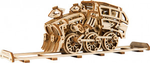 WOODEN CITY Dream Express & Rails, 273 Bauteile