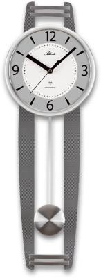Atlanta 5106/19 Pendulum clock radio-controlled silver